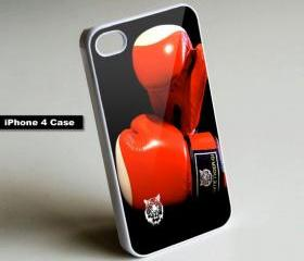 Boxing Gloves - iPhone 4 Case, iPhone 4s Case, iPhone 5 Case Hard Plastic Case