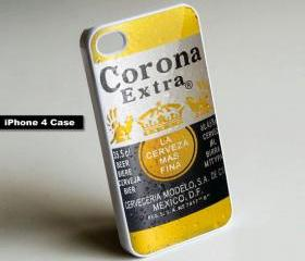 Corona Beer Rare - iPhone 4 Case, iPhone 4s Case, iPhone 5 Case Hard Plastic Case